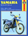 Yamaha RD and DT125LC 1982-87 Owner's Workshop Manual