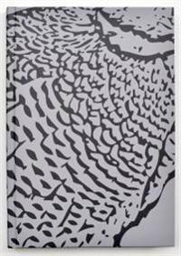 Kiji skrivbok A5 gråmönstrad linjerad