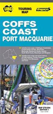 Coffs Harbour and Port Macquarie Map 278/294 1st