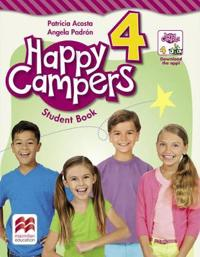 Happy Campers Level 4 Student's Book/Language Lodge