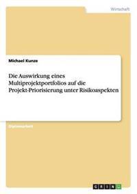 Die Auswirkung Eines Multiprojektportfolios Auf Die Projekt-Priorisierung Unter Risikoaspekten