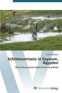 Schistosomiasis in Fayoum, Agypten