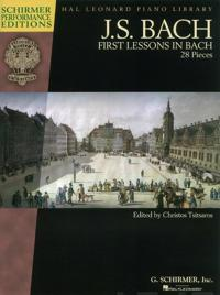 J. S. Bach First Lessons in Bach