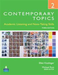 Contemporary Topics 2 Student Book with Streaming Video Access Code Card