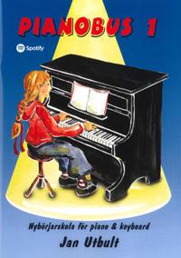 Pianobus 1 : nybörjarskola för piano & keyboard