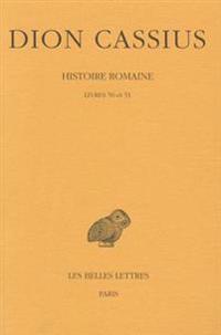 Dion Cassius, Histoire Romaine