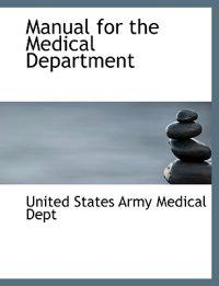 Manual for the Medical Department