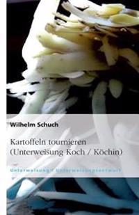 Kartoffeln Tournieren (Unterweisung Koch / Kochin)