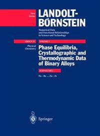 Phase Equilibria, Crystallographic and Thermodynamic Data of Binary Alloys