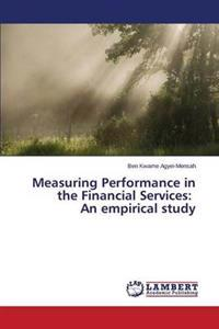 Measuring Performance in the Financial Services