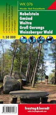 Nebelstein - Gmünd - Weitra - Groß Gerungs - Weinsberger Wald 1 : 50.000