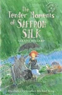 Tender moments of saffron silk