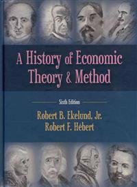 A History of Economic Theory & Method