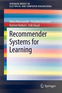 Recommender Systems for Learning