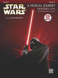 Star Wars Instrumental Solos (Movies I-VI): Horn in F, Book & CD