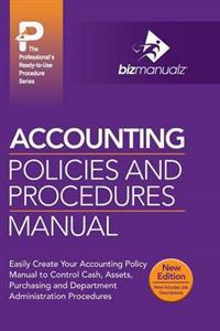 Accounting Policies and Procedures Manual