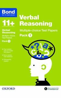 Bond 11+: verbal reasoning: multiple-choice test papers - pack 1