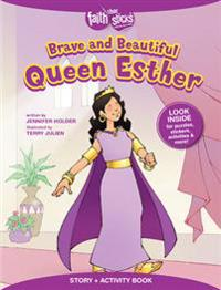 Brave and Beautiful Queen Esther Story + Activity Book