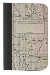 Topographical Map Pocket Sized Decomposition Book