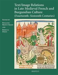Text / Image Relations in Late Medieval French and Burgundian Culture