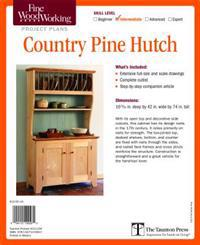 Country Pine Hutch