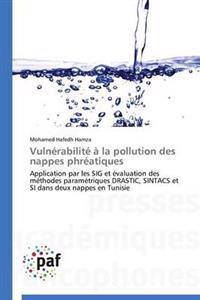 Vuln�rabilit�� La Pollution Des Nappes Phr�atiques
