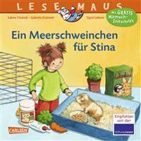 LESEMAUS 75: Ein Meerschweinchen für Stina