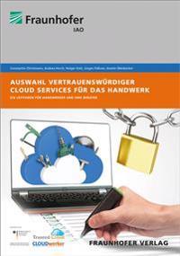 Auswahl vertrauenswürdiger Cloud Services für das Handwerk
