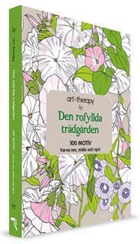 Den rofyllda trädgården : 100 motiv - varva ner, måla och njut