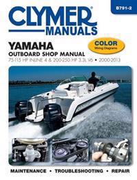 Yamaha 75-250 HP 4-Stroke Outboard Motor Repair Manual