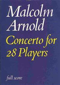 Concerto for Twenty Eight Players: Full Score