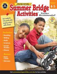 Summer Bridge Activities(r), Grades 4 - 5
