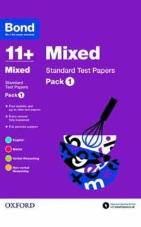 Bond 11+: mixed: standard test papers - pack 1