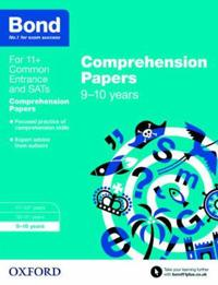 Bond 11+: english: comprehension papers - 9-10 years