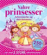 Vakre prinsesser. Alt i ett-aktivitetsbøker