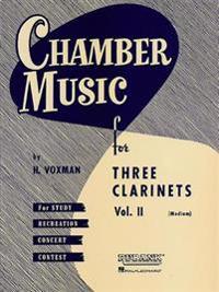 Chamber Music for Three Clarinets, Vol. II: (Medium)