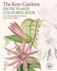 The Kew Gardens Exotic Plants Colouring Book