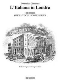 L'Italiana in Londra: Vocal Score