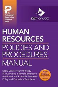 Human Resources Policies and Procedures Manual