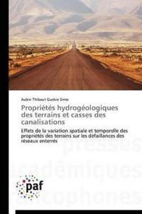 Propri�t�s Hydrog�ologiques Des Terrains Et Casses Des Canalisations