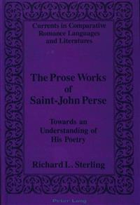 The Prose Works of Saint-John Perse