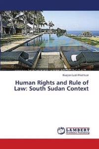 Human Rights and Rule of Law