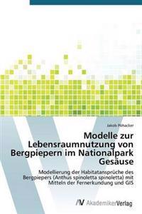 Modelle Zur Lebensraumnutzung Von Bergpiepern Im Nationalpark Gesause
