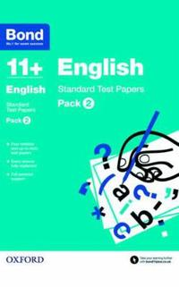 Bond 11+: english: standard test papers - pack 2