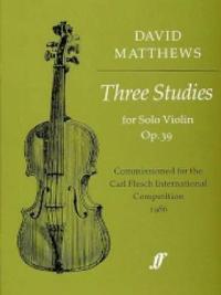 Three Studies, Op. 39