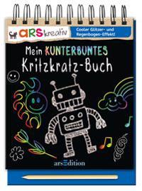Mein kunterbuntes Kritzkratz-Buch