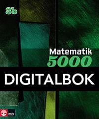 Matematik 5000 Kurs 3b Grön Lärobok Digital