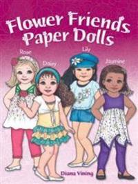 Flower Friends Paper Dolls