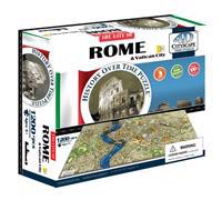 4D Cityscape Rome History Time