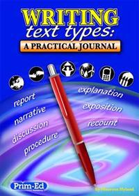 Writing text types - a practical journal